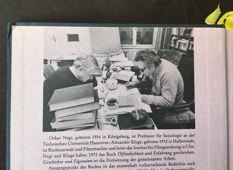 Oskar Negt and Johan F  Hartle: Interview: Critical Theory's