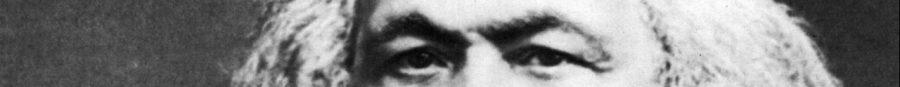The eyes of Karl Marx